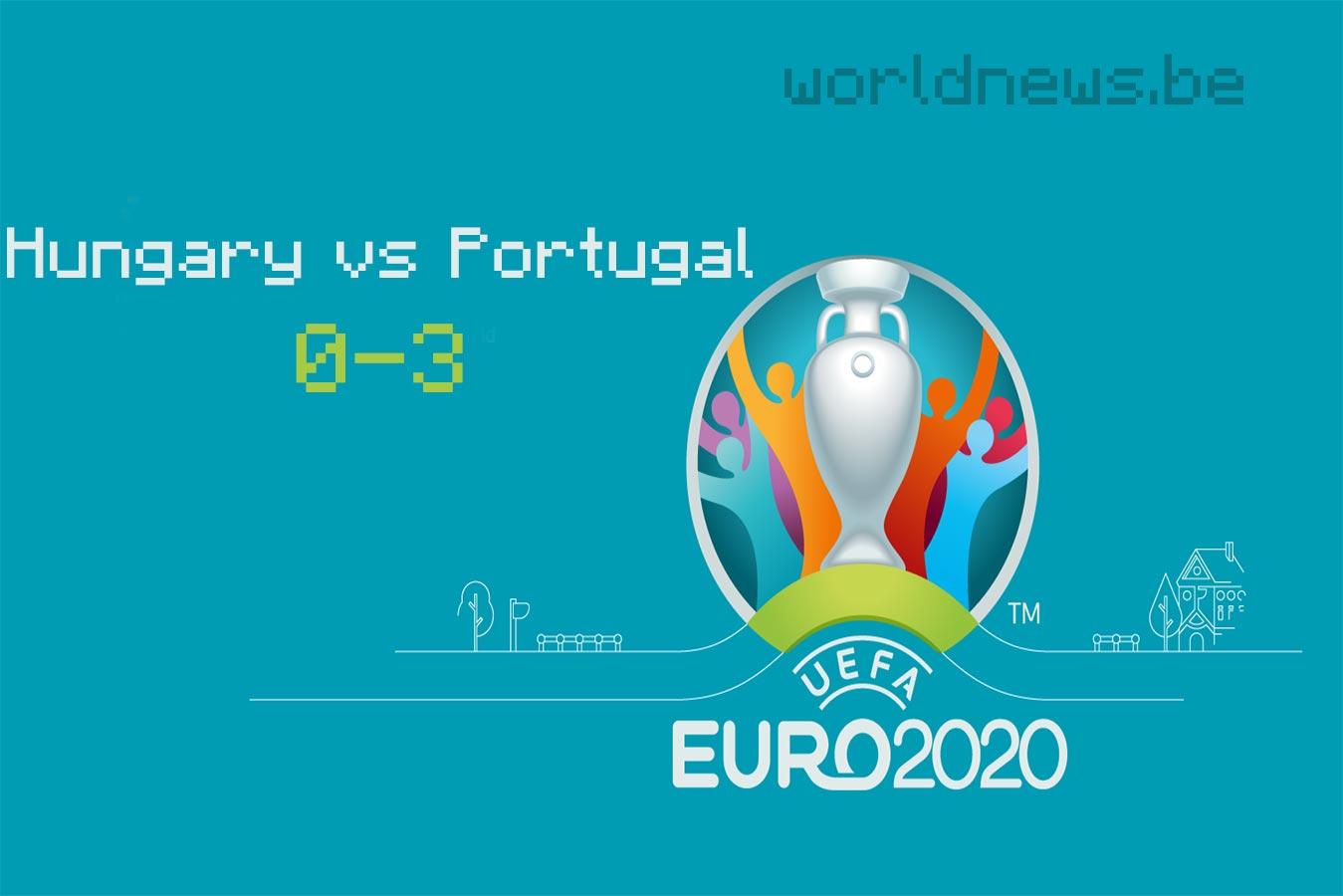 Portugal beat Hungary 3-0 in Hungary