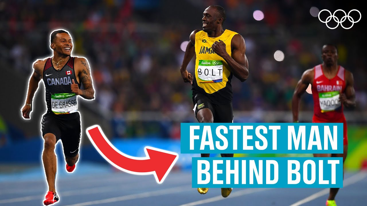 Andre de Grasse – The man that ALMOST beat Usain Bolt!